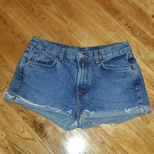 Lucky brand vintage jean shorts